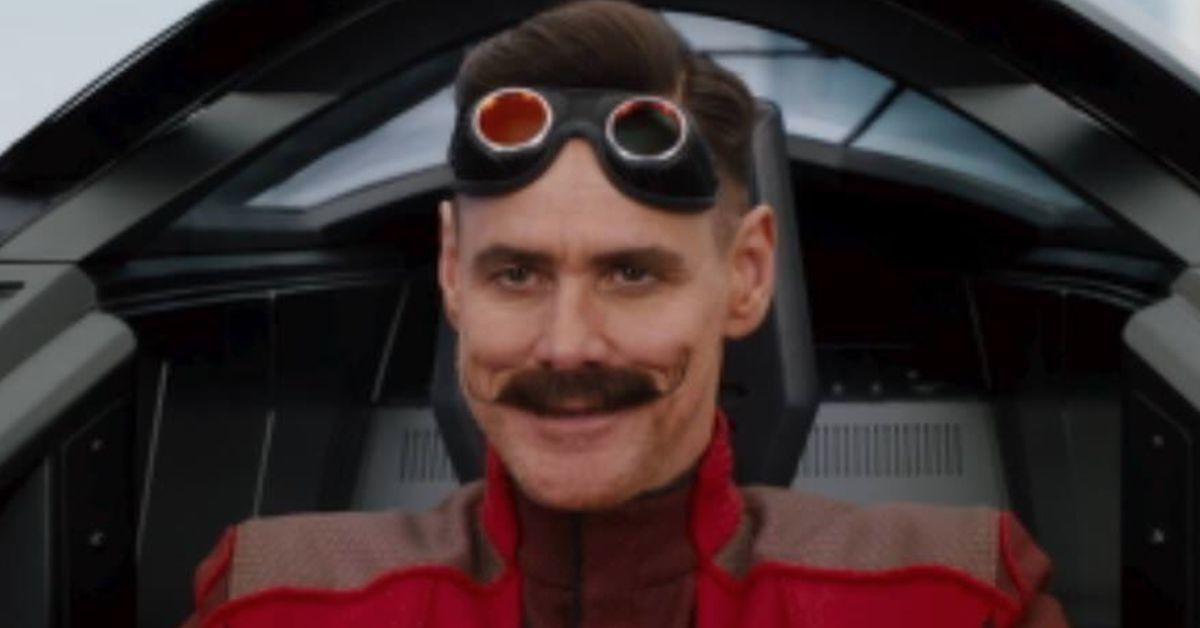 This Leaked Image Of Jim Carrey As Dr Robotnik Has Lots Of Sonic The Hedgehog Fans Confused Deseret News