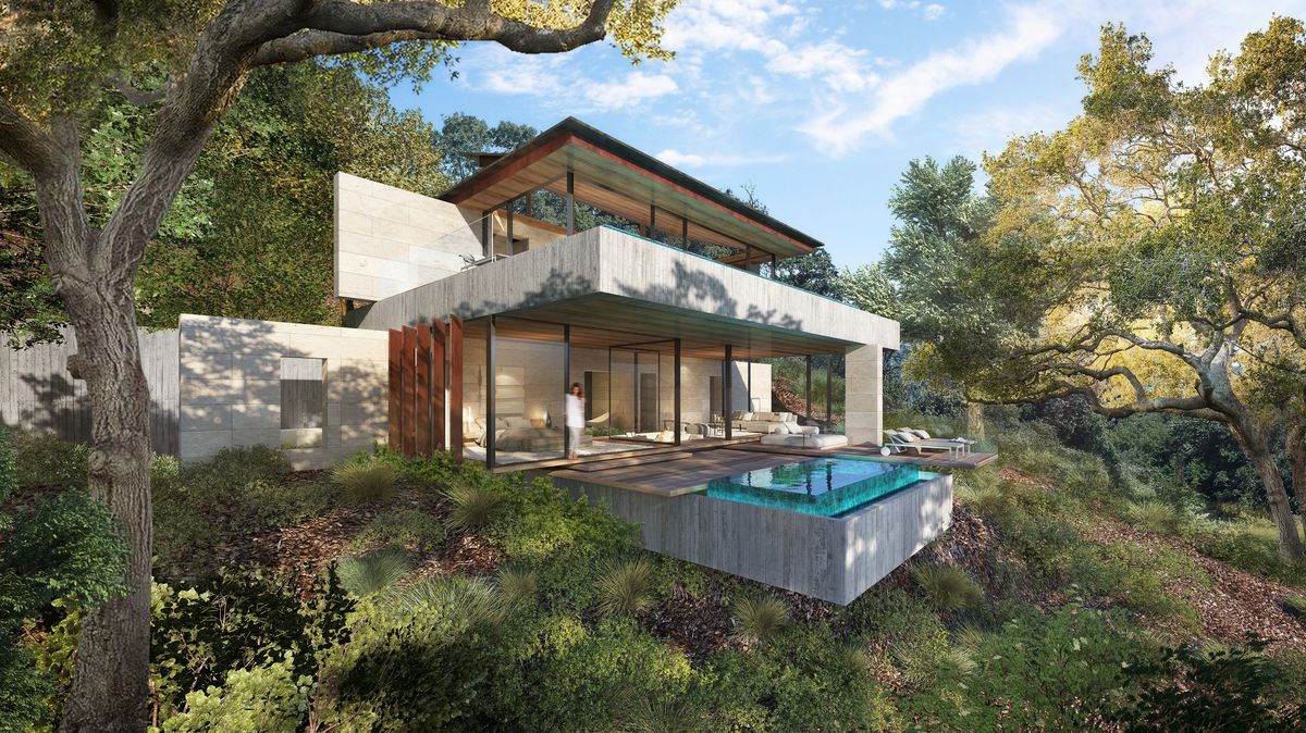 Rendering of the Retreat at Benedict Canyon