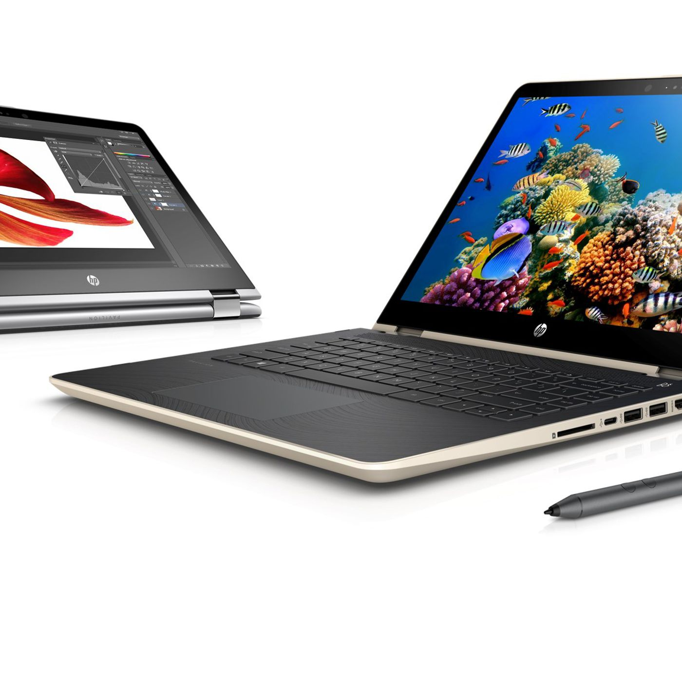 HP's refreshed Pavilion x360 line adds pen support and new