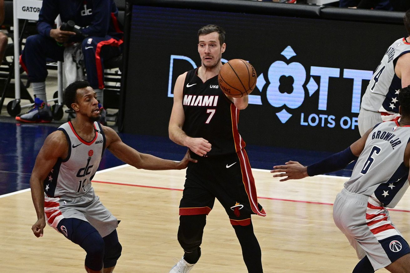 NBA: Miami Heat at Washington Wizards
