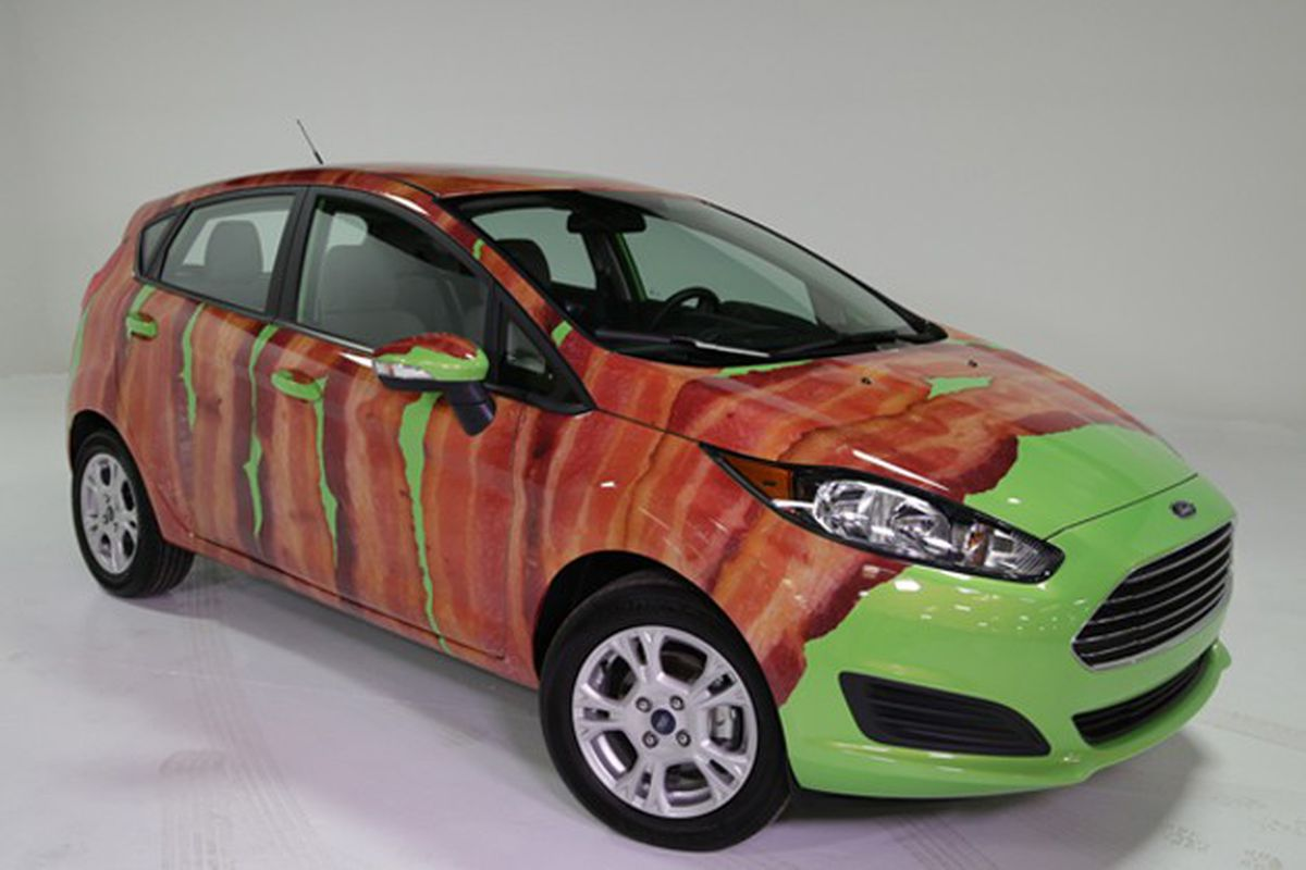Bacon wrapped Ford
