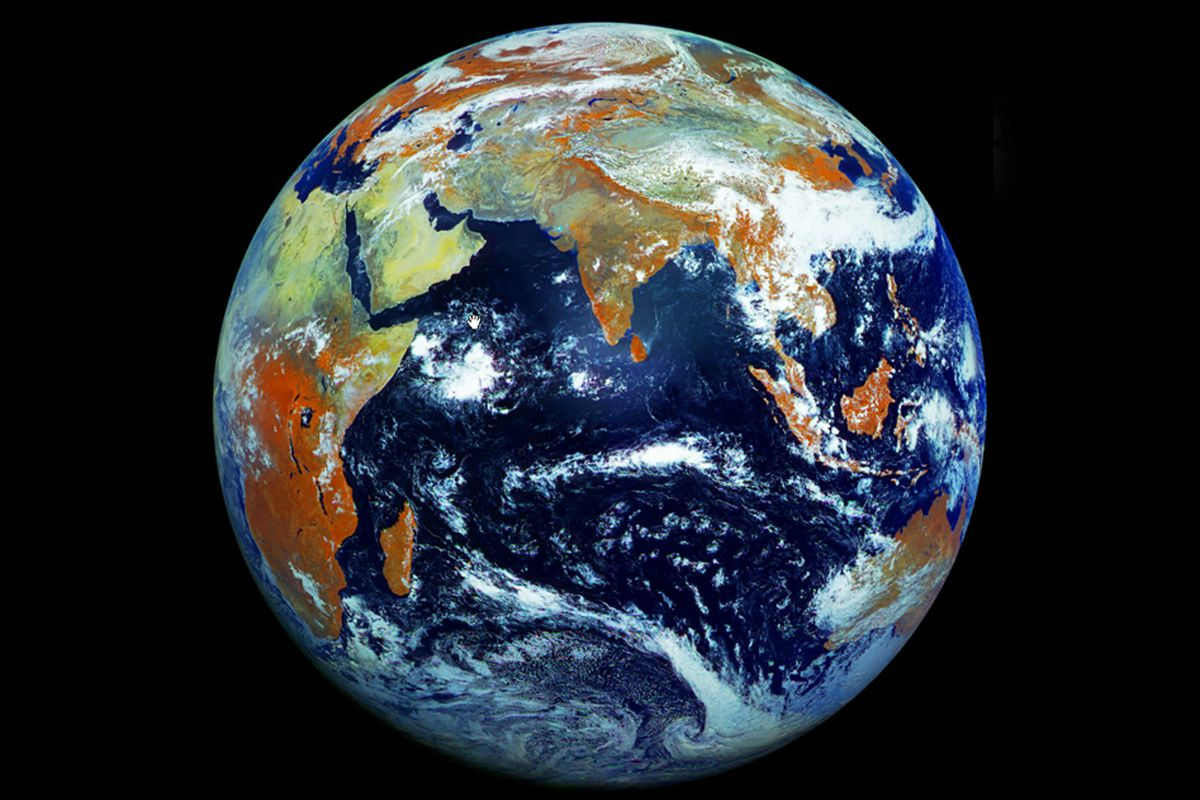 Russian Satellites Megapixel Image Of Earth Is Most Detailed - Live weather satellite images