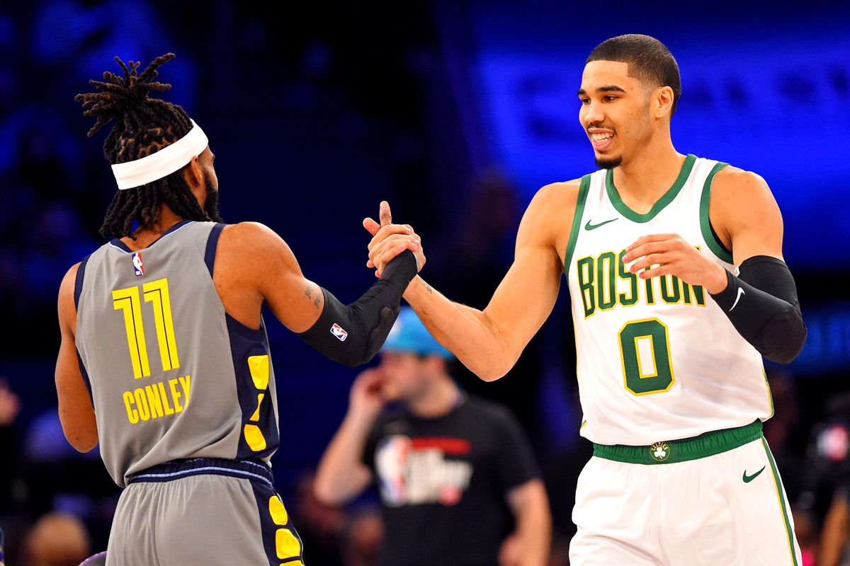 best service 4366c 1ef90 NBA Skills Challenge 2019 results: Jayson Tatum won on A ...
