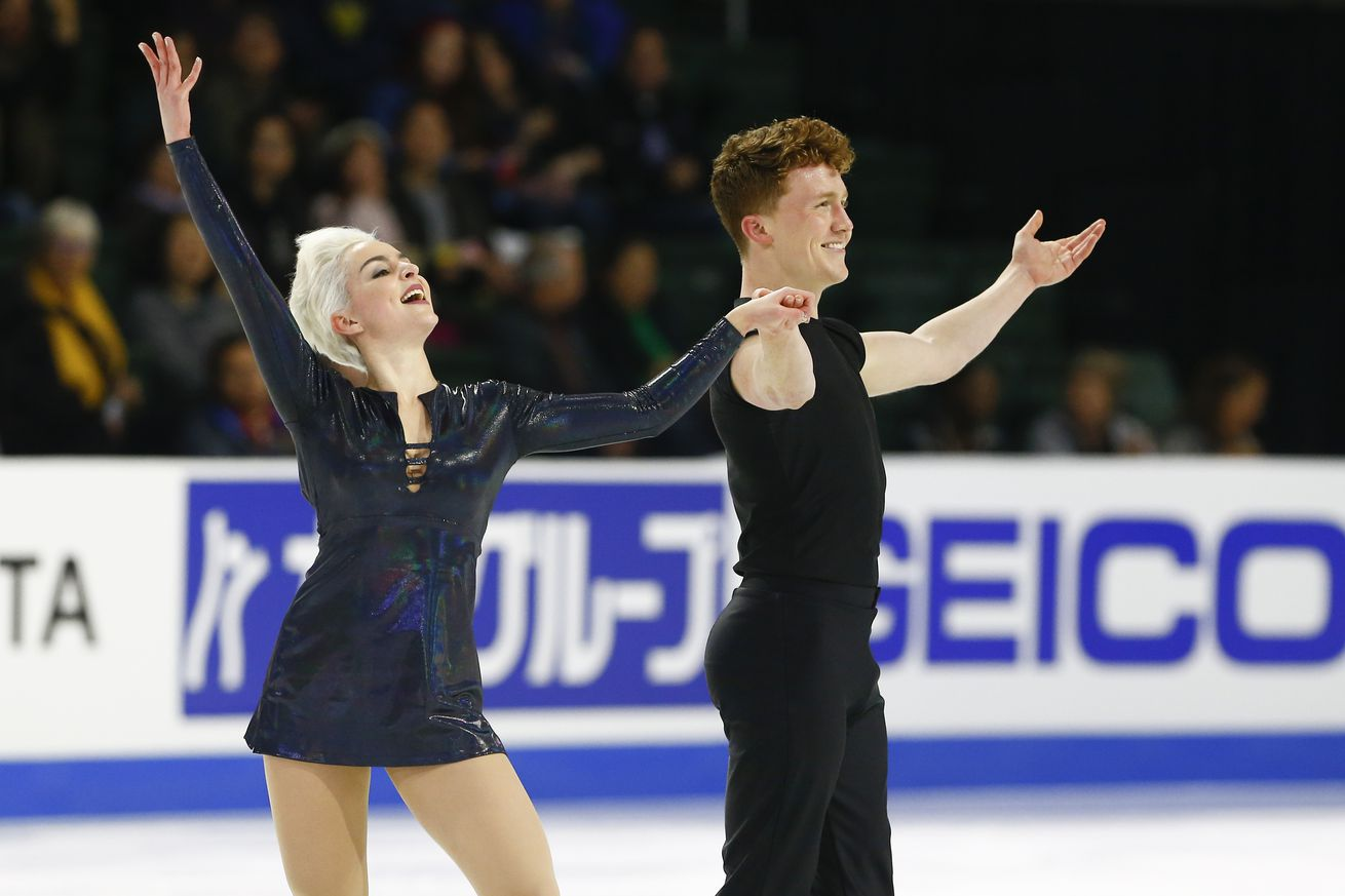 First openly LGBTQ ice dancing team to skate at U.S. Figure Skating Championships