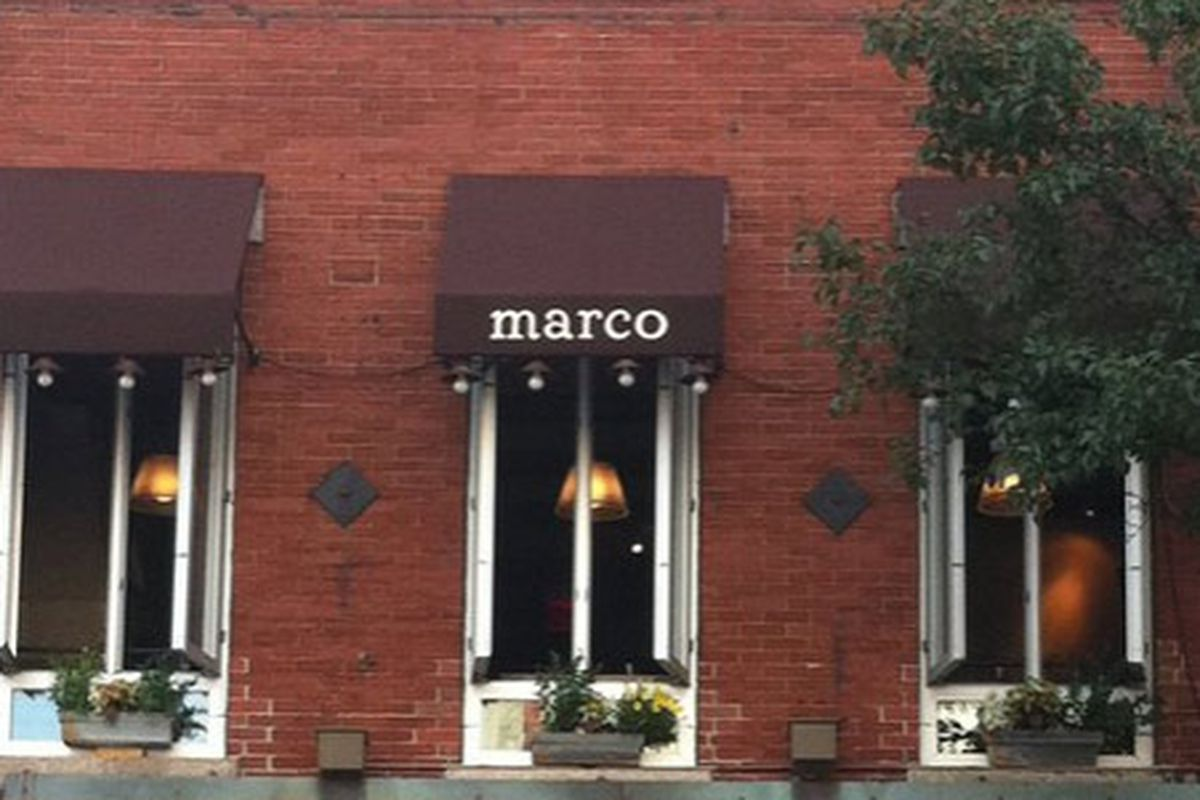 Aria Trattoria Could Replace Marco By January Eater Boston
