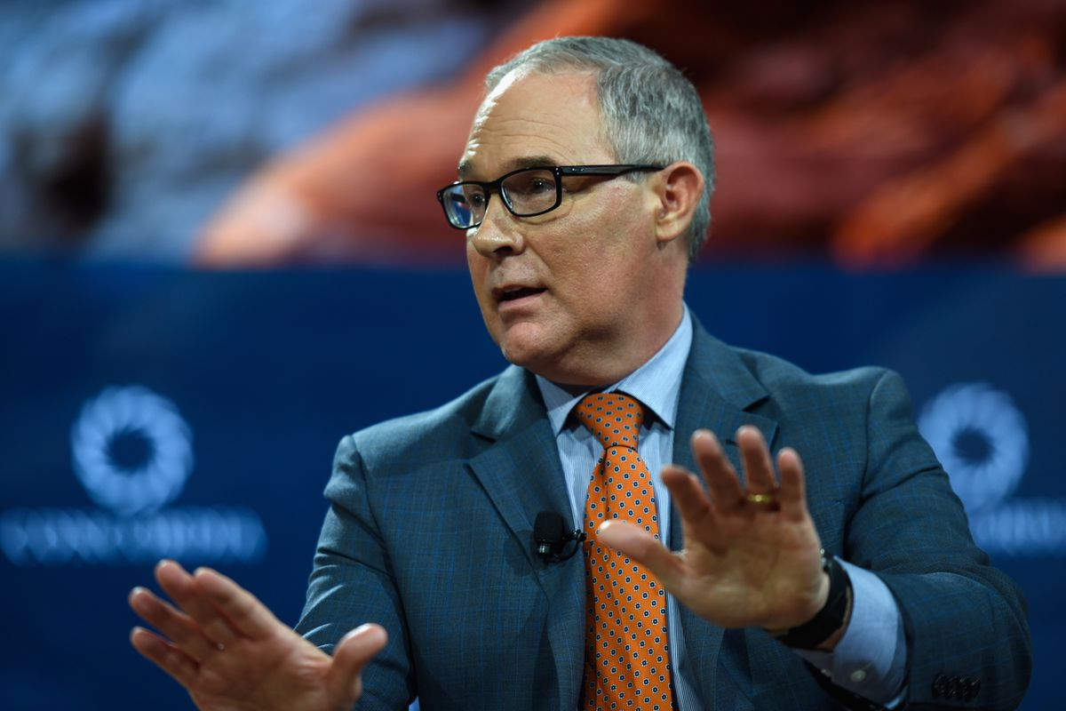 The EPA under Scott Pruitt has been on a war footing with the media.