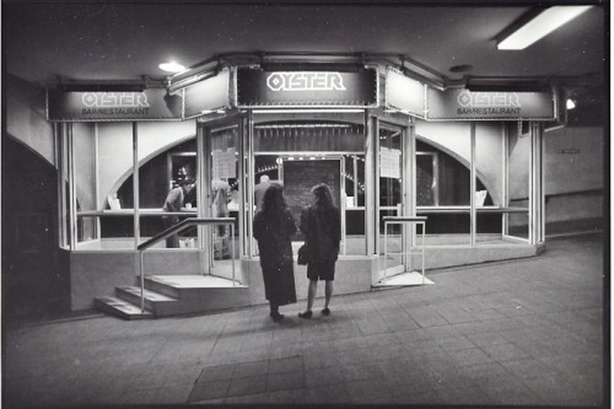 Undated photograph, courtesy of the Oyster Bar.