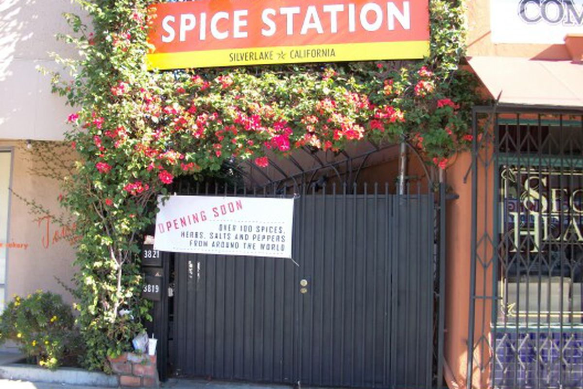 """The caption would have been so much funnier if the Spice Station was next to the gay leather place.<span class=""""credit""""></span>"""