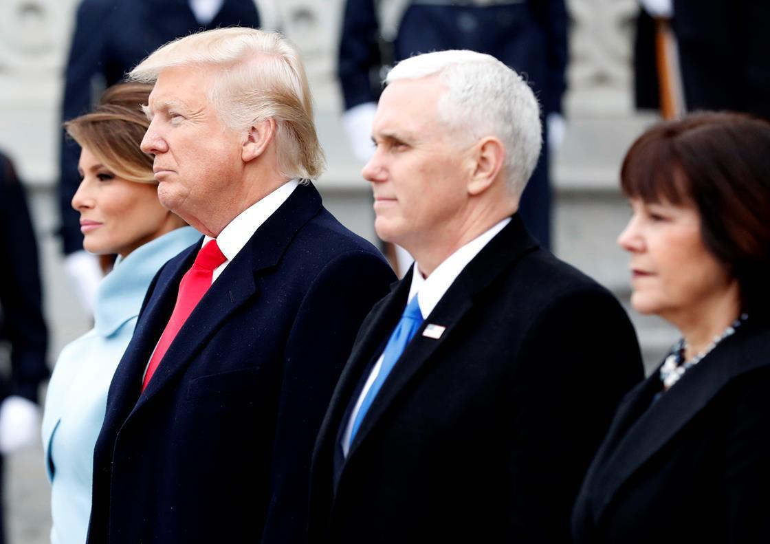 President Trump at inauguration