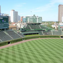 4:12 p.m. View from the upper deck -