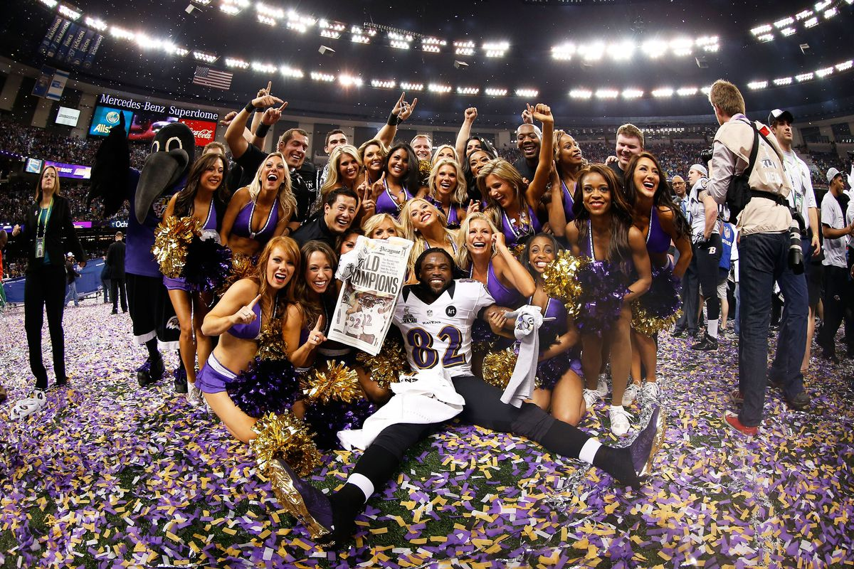 Torrey Smith's ready to return football. How about you?