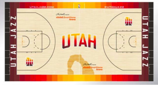 purchase cheap 9e9da 046f4 New Utah Jazz uniforms pay homage to Utah's sunset and have ...