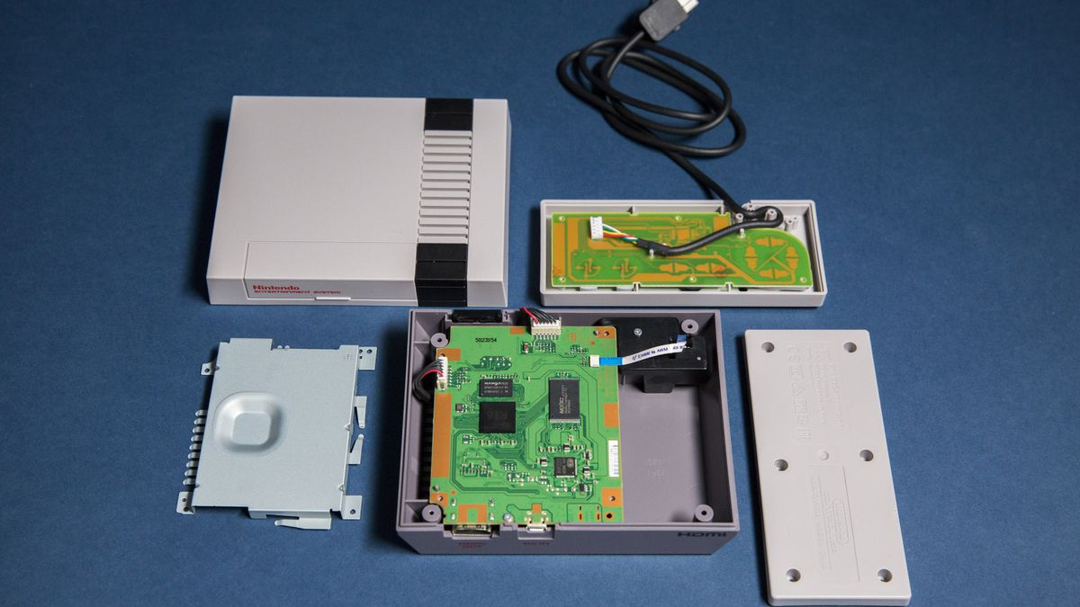 how to wire up a classic mini what s inside the nes    classic    edition polygon  what s inside the nes    classic    edition polygon