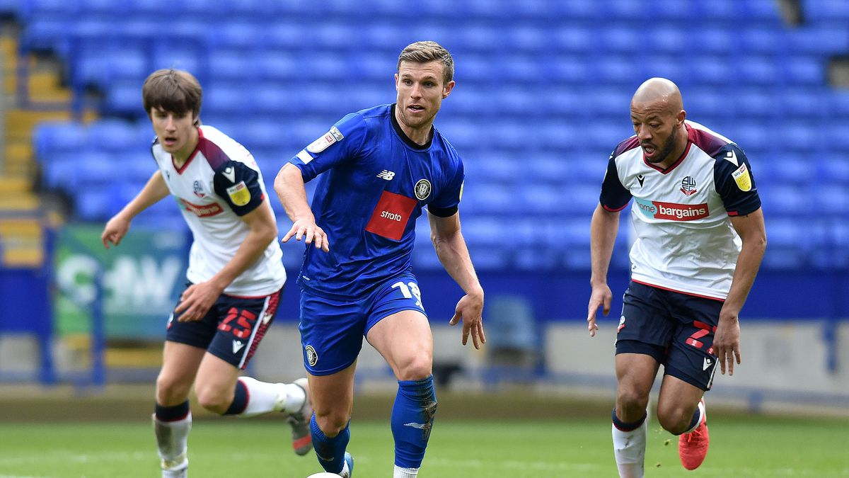 Bolton Wanderers v Harrogate Town - Sky Bet League Two