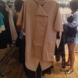 Short sleeve jacket, $250