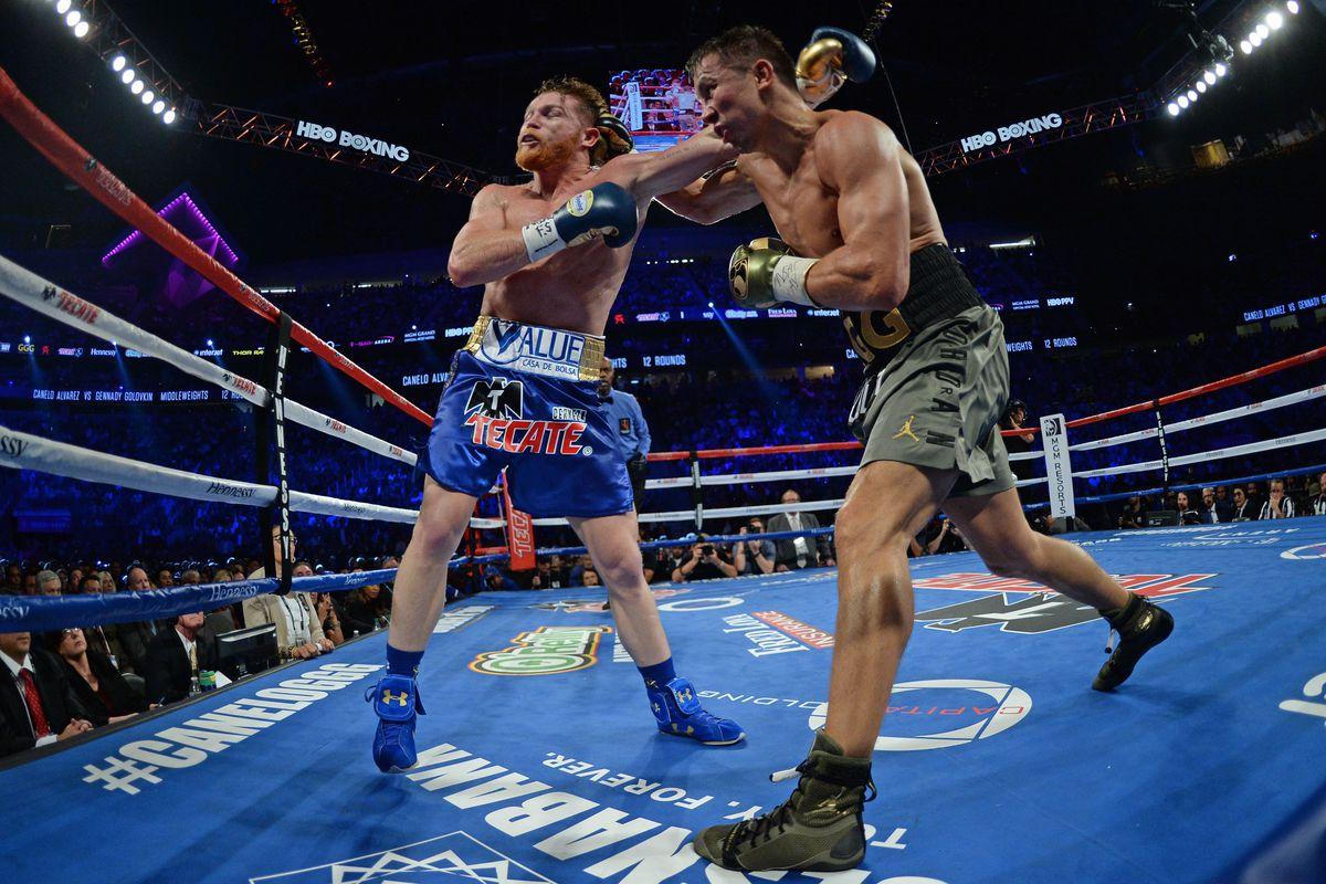 Boxing: Canelo vs Golovkin
