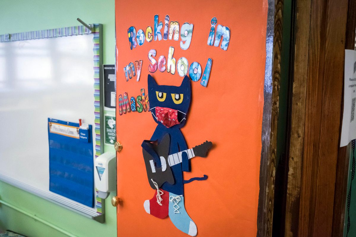 Schools prepare for in class learning ahead of the fall reopening.
