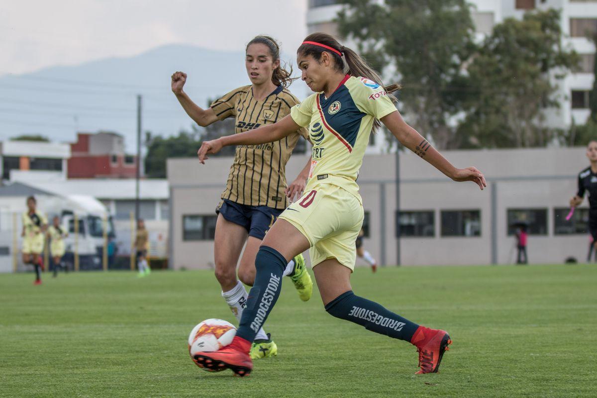 Daniela Espinosa has 10 goals on the season for Club América.