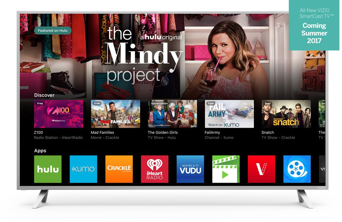 Vizio's new TVs don't do apps the way you'd expect - The Verge