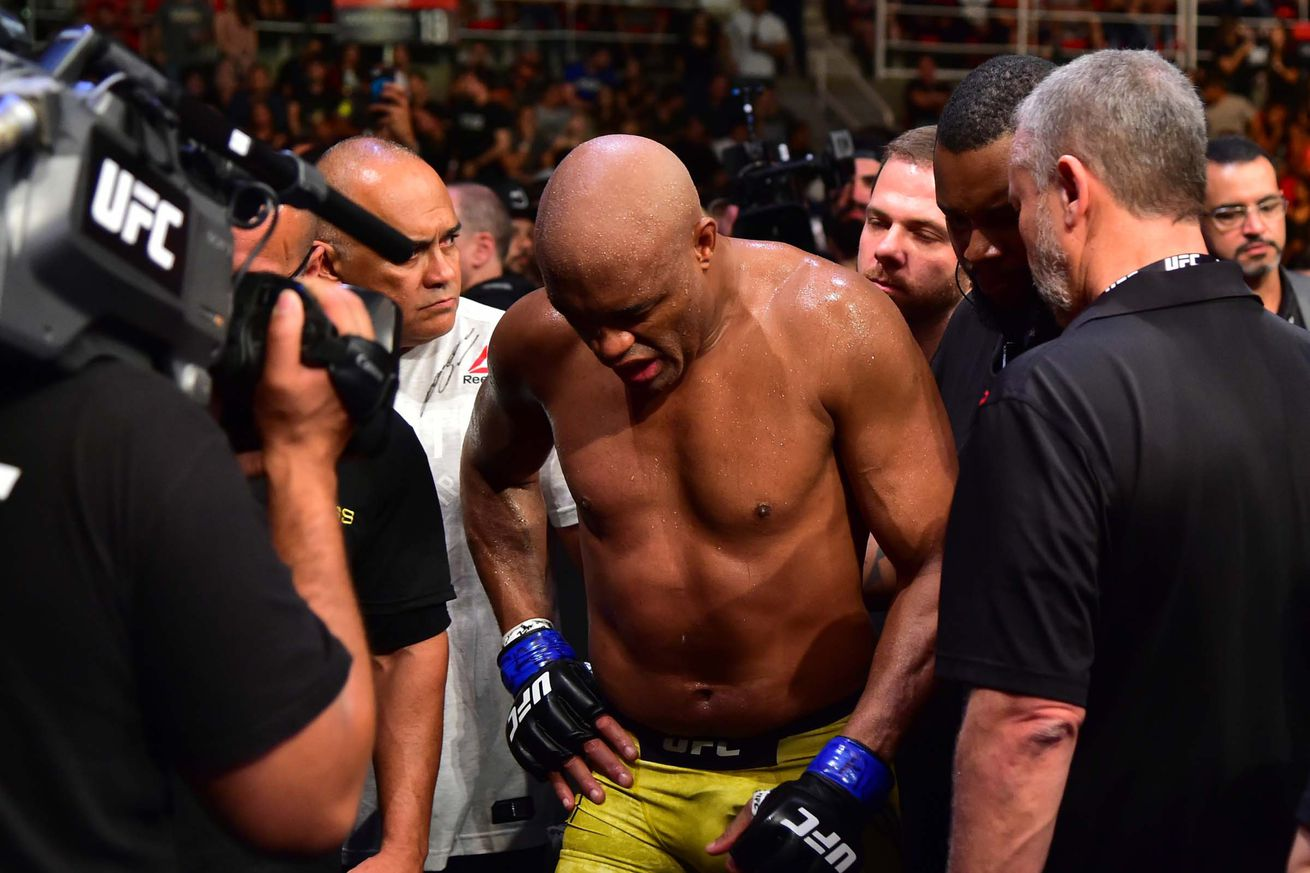 Anderson Silva lost in his native country for the first time since joining the UFC.