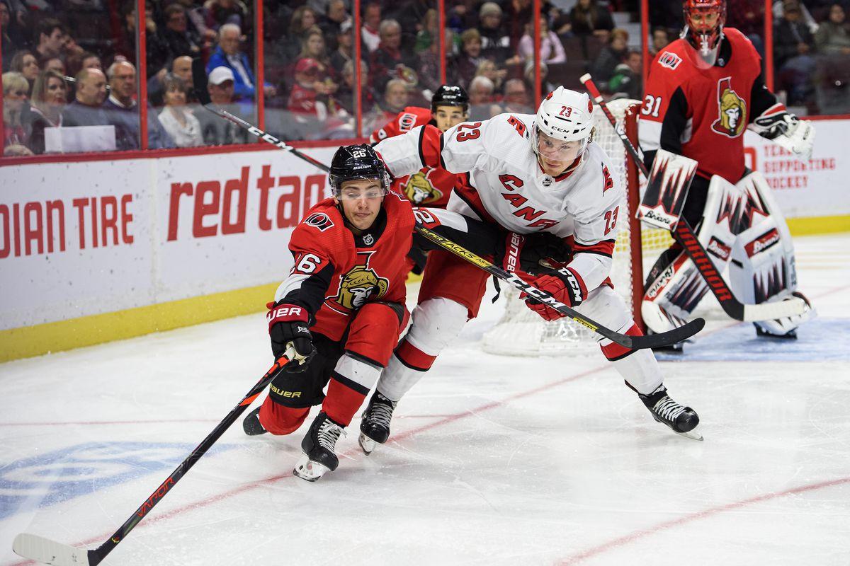 NHL: NOV 09 Hurricanes at Senators
