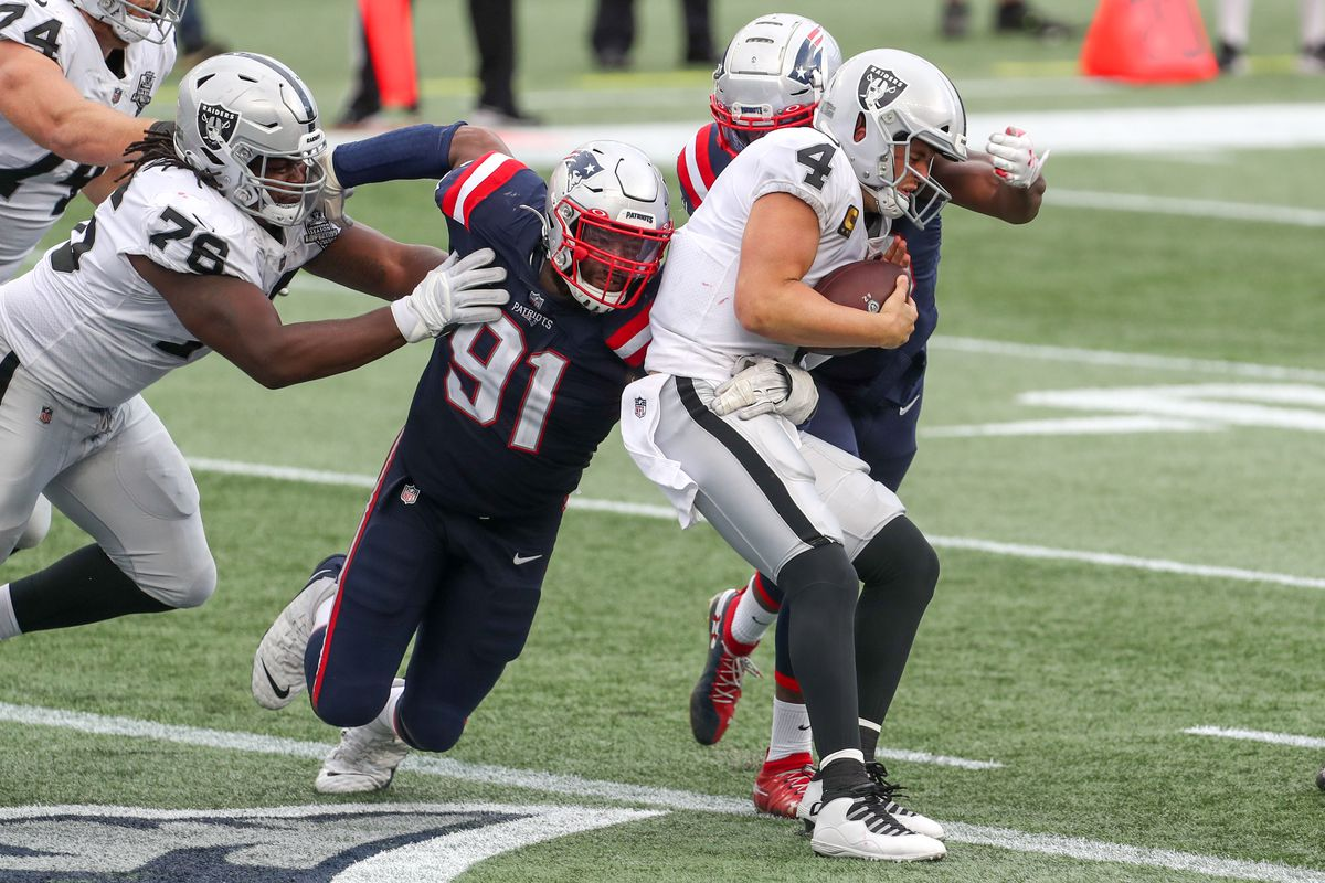 What was the biggest play of the Patriots' 36-20 win over the Raiders? - Pats Pulpit