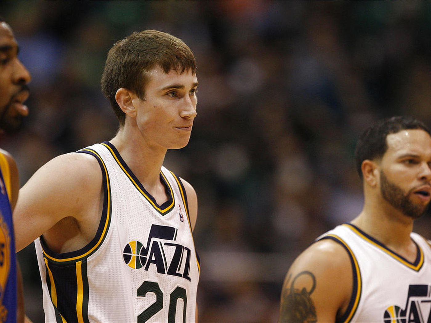 Utah Jazz Gordon Hayward Just Go Out And Play Deseret News