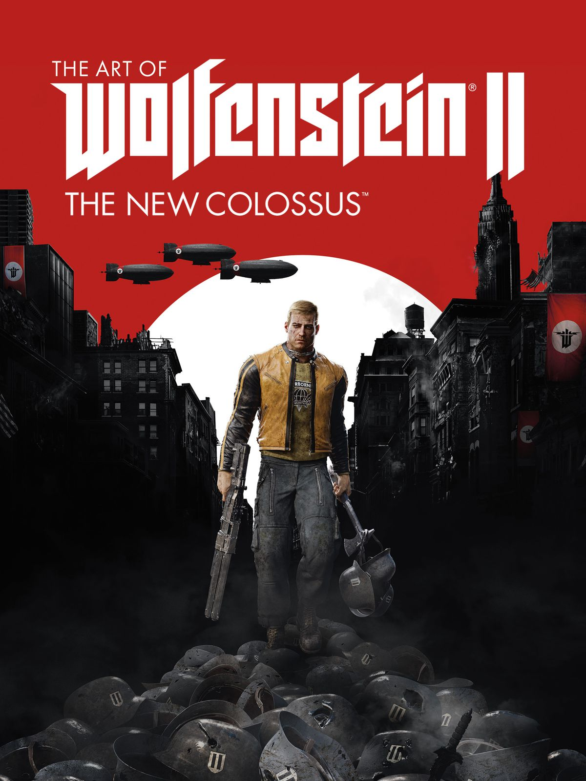 Wolfenstein 2 The New Colossus Is Getting A Big Old Art