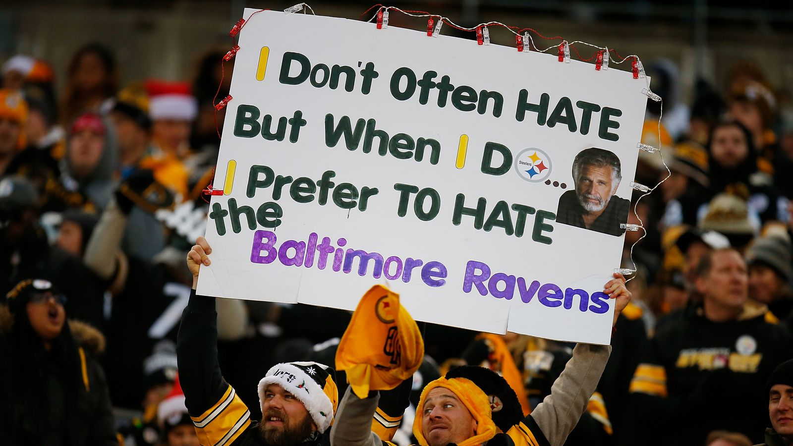 Steelers fans show their love