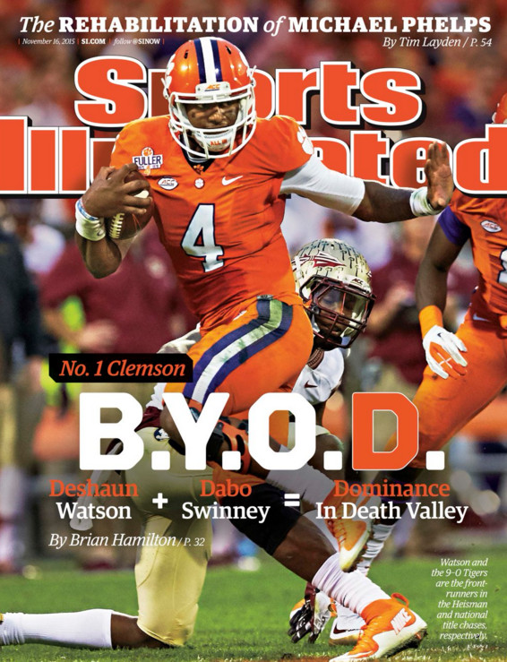 DW4, Sports Illustrated Cover, 11/10/2015