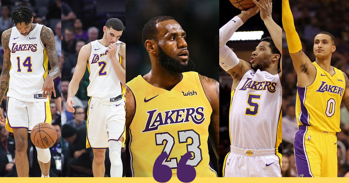 ba2013de46b Lakers hoping to play LeBron James at center in their  Death Lineup  -  Silver Screen and Roll