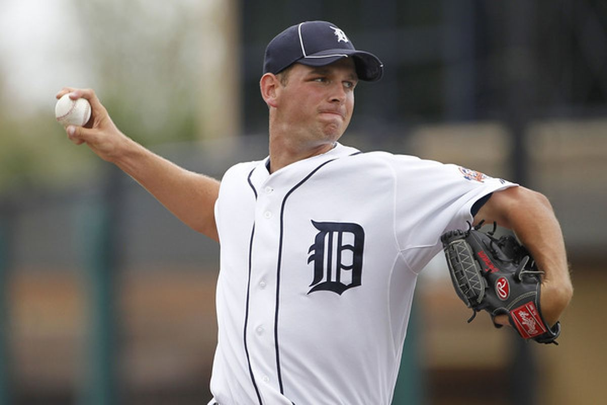 Jacob Turner of the Detroit Tigers (Photo by Leon Halip/Getty Images)