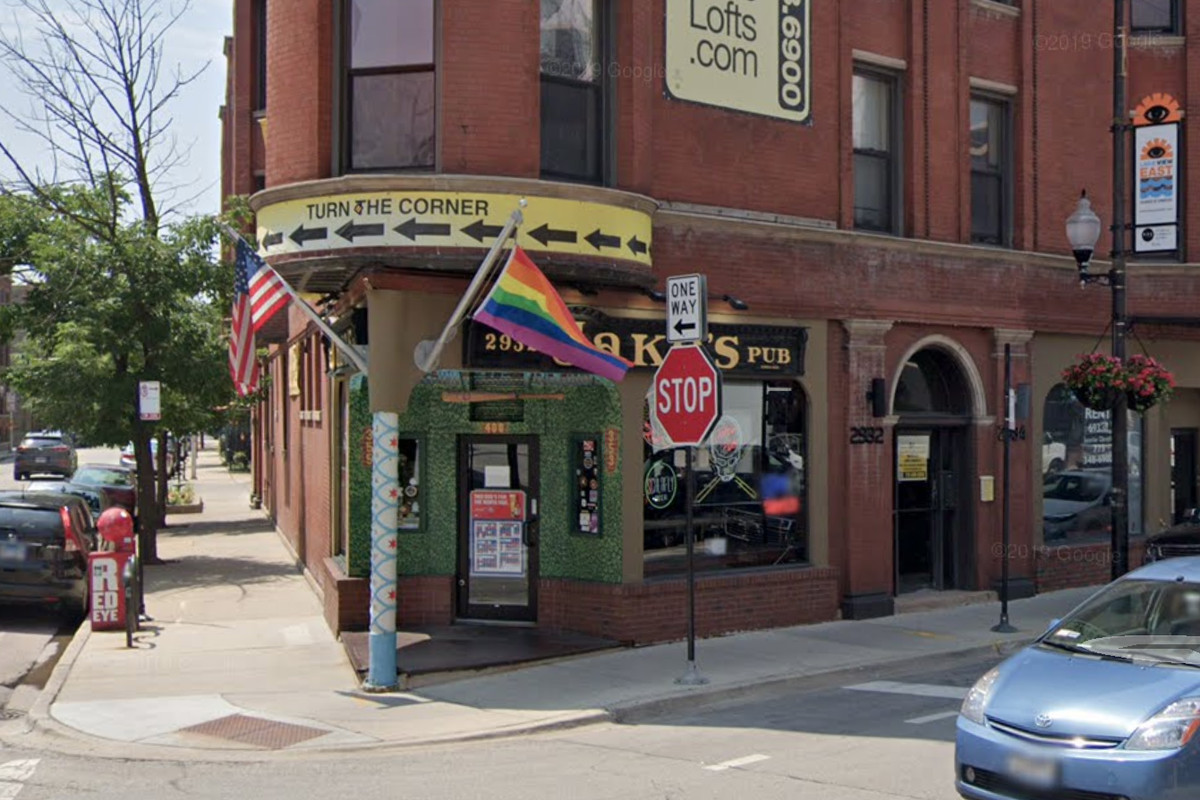 Jake's Pub, at 2932 N. Clark St., was among eight businesses cited over the weekend for allegedly violating coronavirus restrictions.