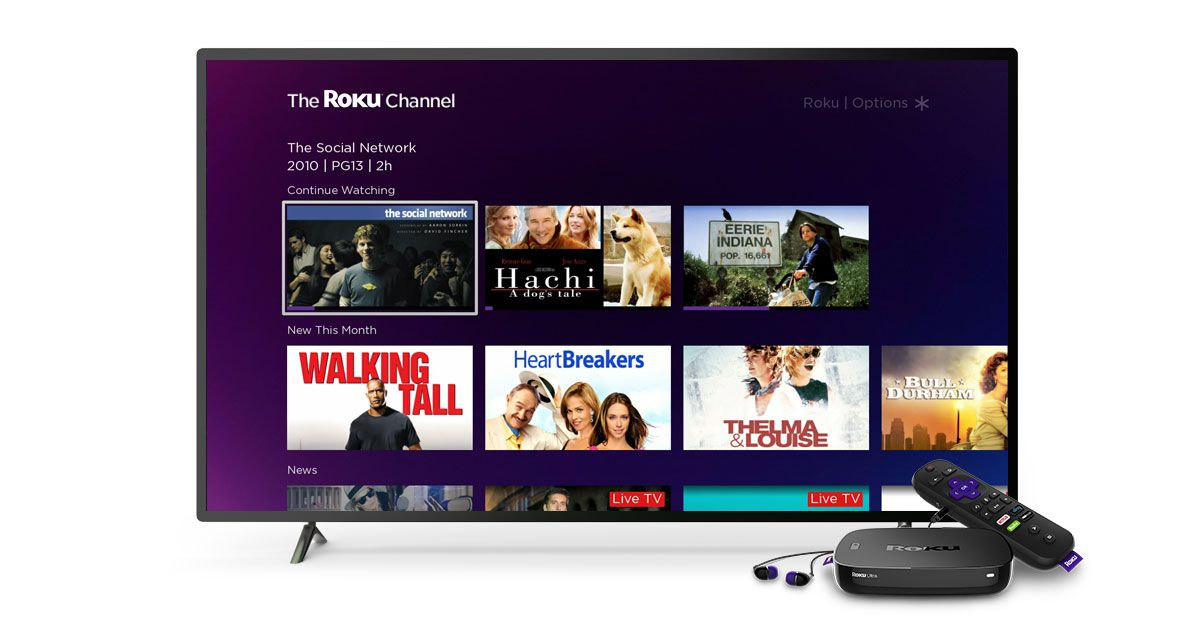 Roku Channel adds live news and curated movie collections