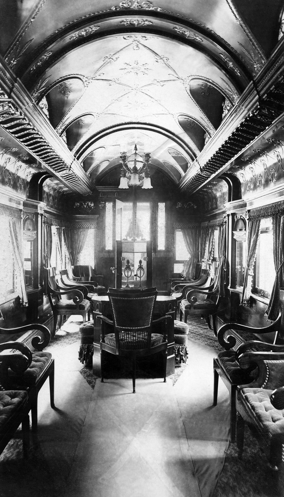 The History Of Private Pullman Train Cars Curbed