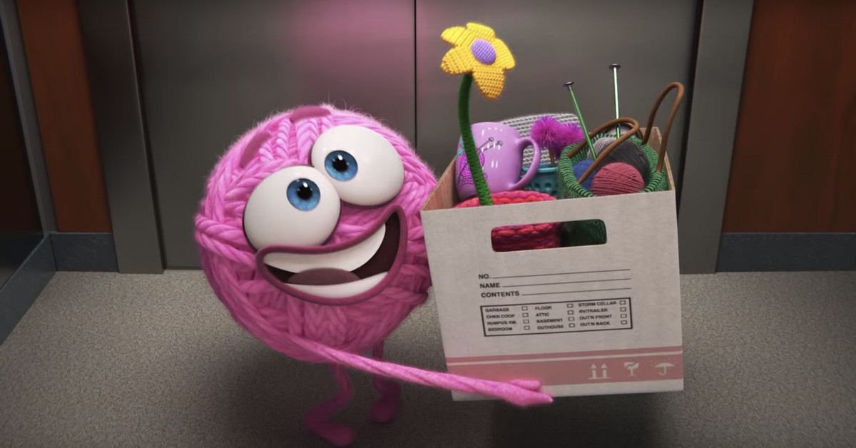 Pixar's new short film is a cursing ball of feminist yarn – NewsBeezer