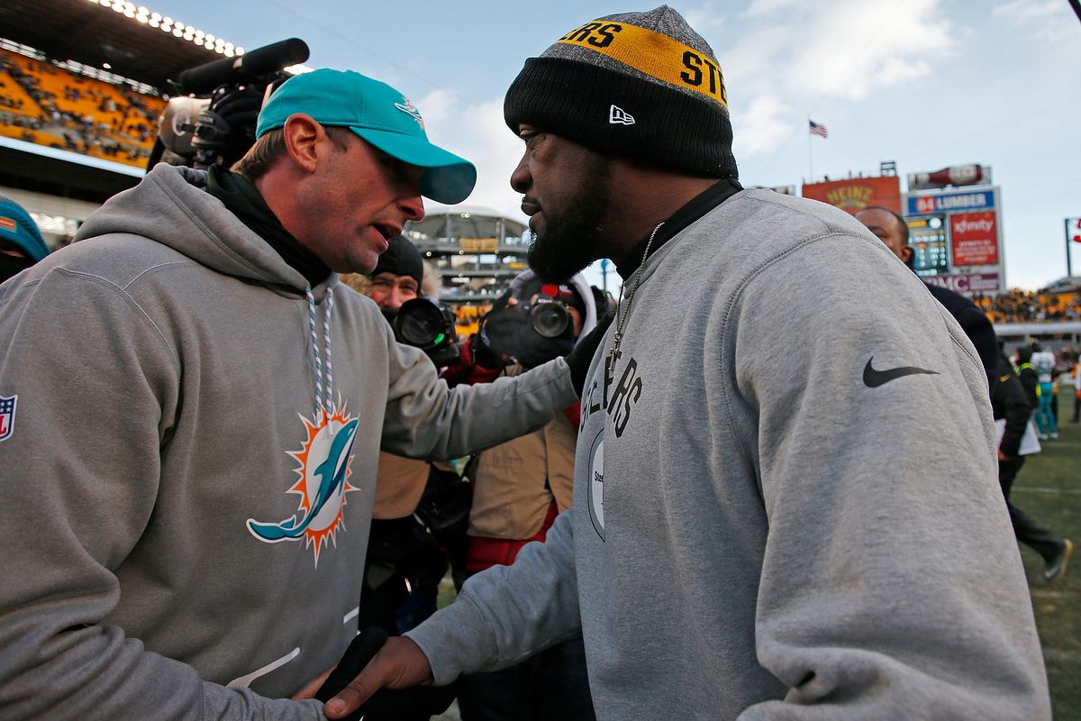 Wild Card Round - Miami Dolphins v Pittsburgh Steelers