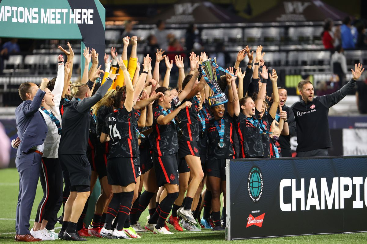 Olympique Lyonnais v Portland Thorns: Championship - 2021 Women's International Champions Cup