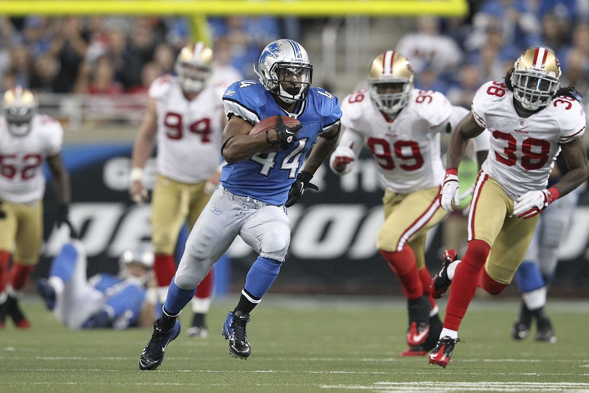 Who is the best career-shortened, Detroit Lions running back?