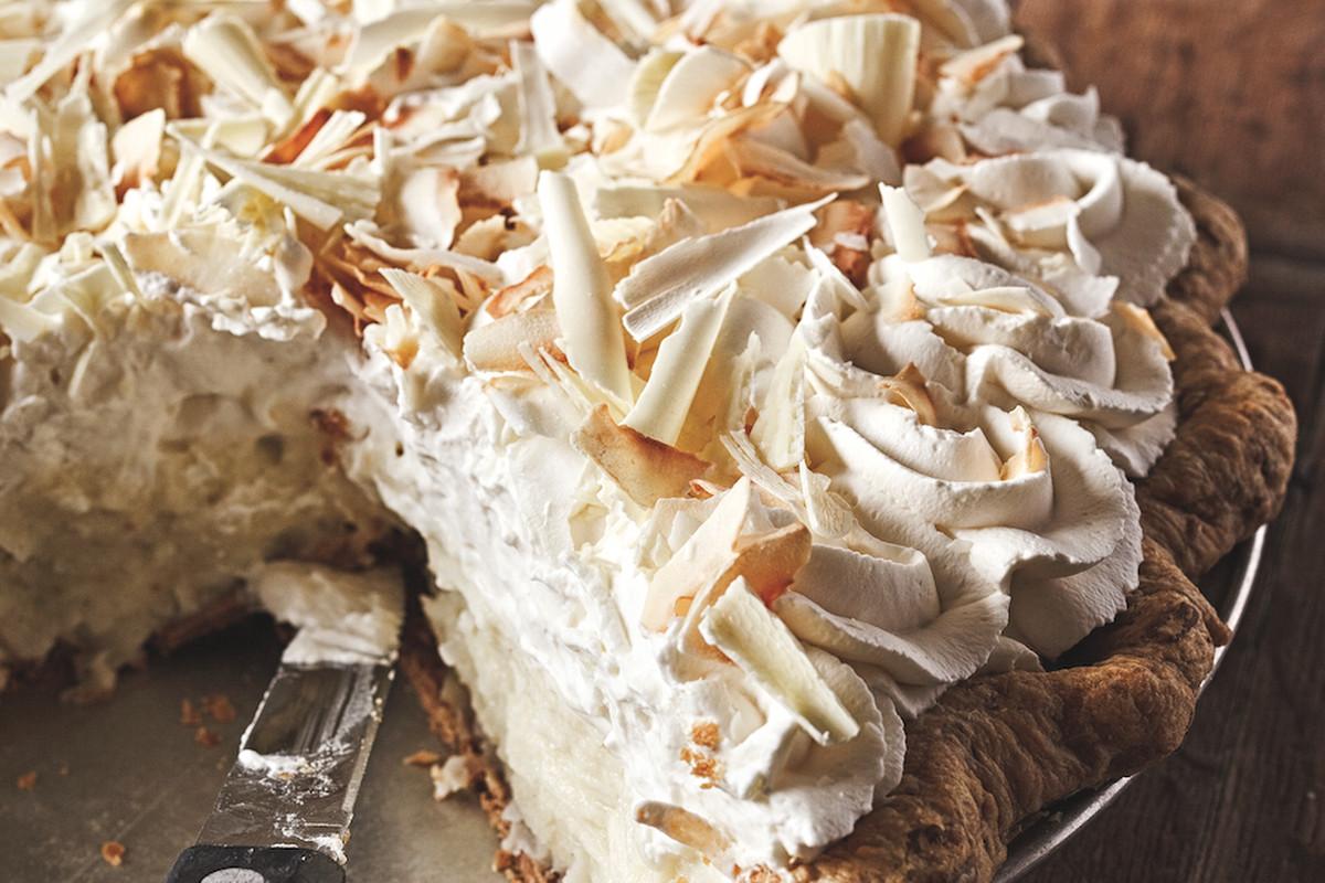 Dahlia Lounge's Coconut Cream Pie