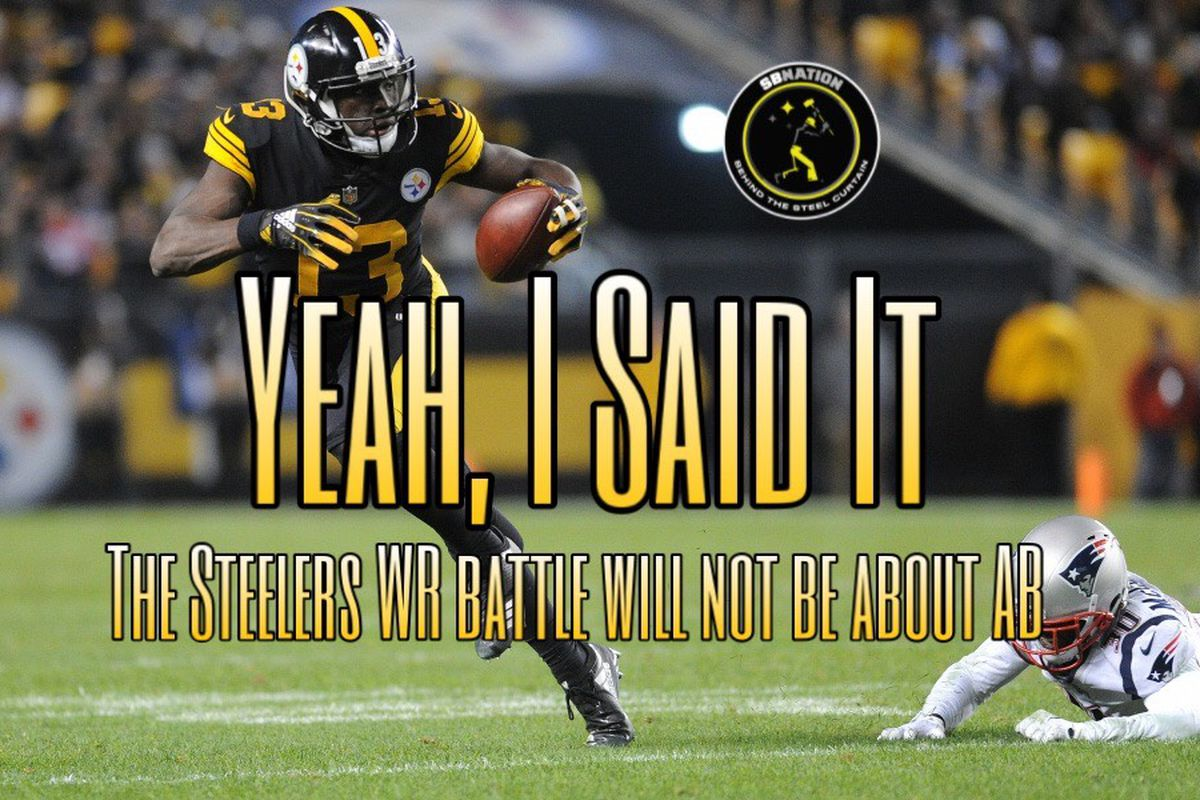 The Steelers Wr Camp Battle Goes Beyond Antonio Browns Lost