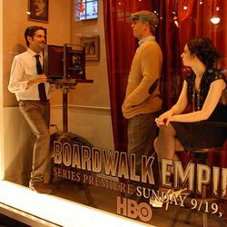 """Another """"Boardwalk Empire"""" window at Bloomingdale's"""