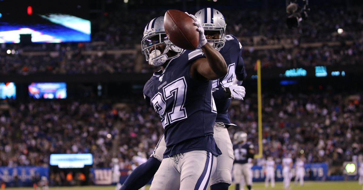 WATCH: Jourdan Lewis picks off Mitch Trubisky, first INT for Cowboys in four games