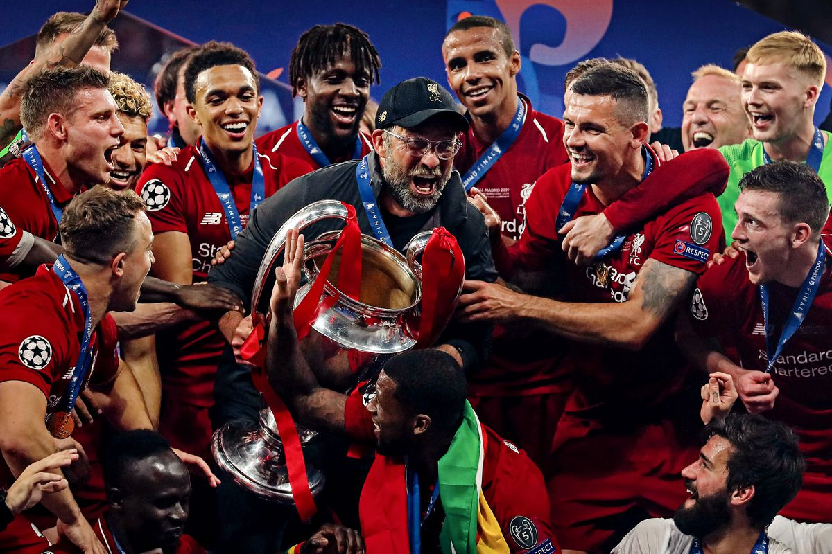 Image result for klopp liverpool champions league