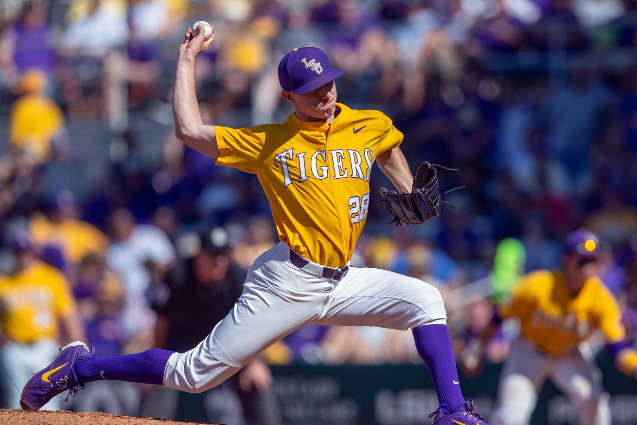 COLLEGE BASEBALL: MAR 31 Mississippi State at LSU