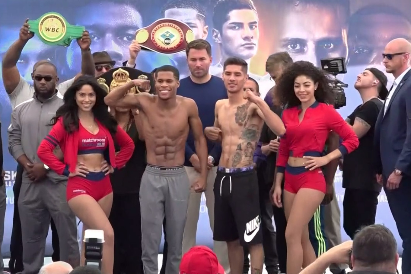 Screen Shot 2019 05 24 at 3.07.28 PM  2 .0 - Haney-Moran set, fighters make weight