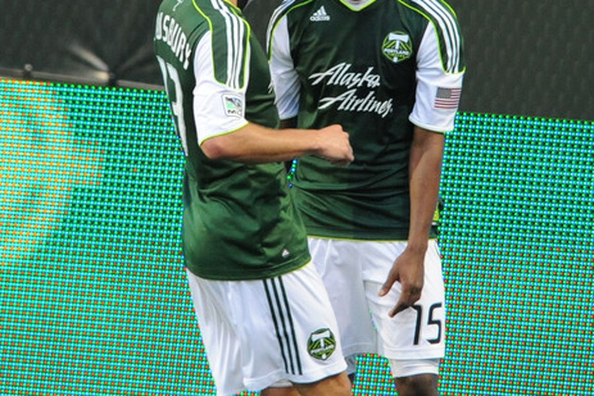 Jorge Perlaza grabbed the second goal in a 4-1 win over LA in a pre-season match. (Photo by Steve Dykes/Getty Images)