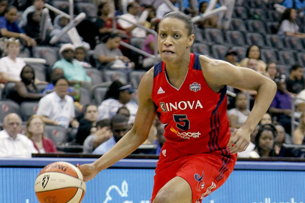 Jasmine Thomas is now with the Dream, and the Mystics now have two first round picks in the 2013 Draft.