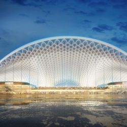 Terminal proposal by Foster Epstein Moreno | Courtesy of City of Chicago