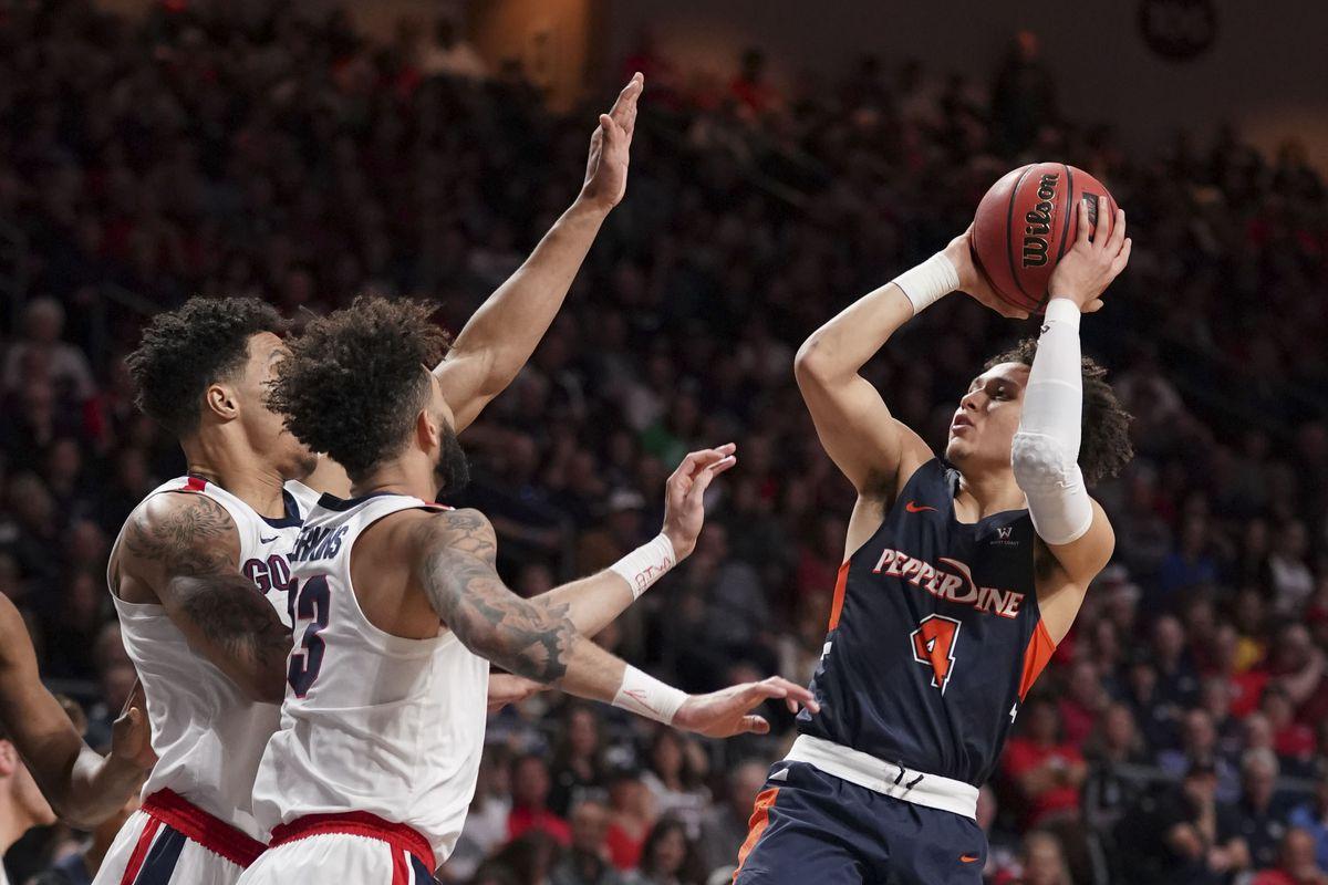 NCAA Basketball: West Coast Conference Tournament-Gonzaga vs Pepperdine